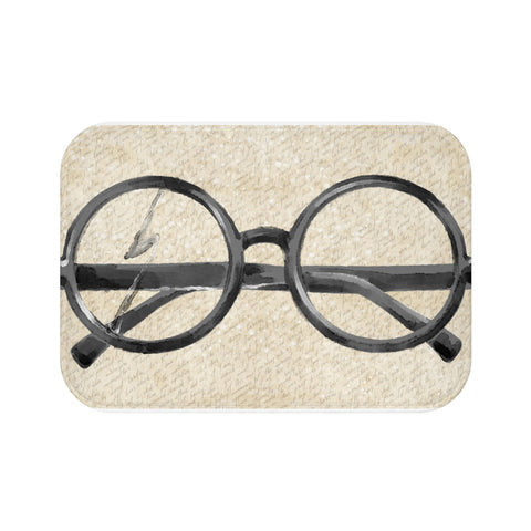Witchcraft and Wizardry - Microfiber Bath Mat (Glasses Classic)