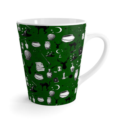 Magic - 12oz Latte Mug (Sherpa Green)