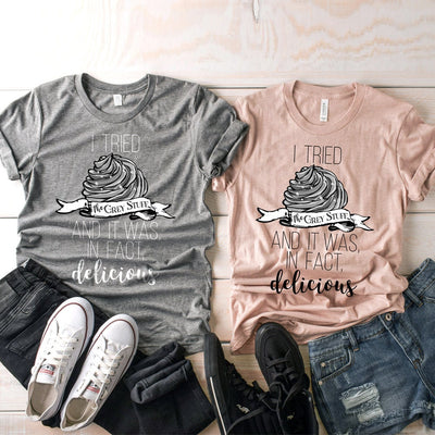Disney Beauty and The Beast Tshirt, Be Our Guest Lumiere Try The Grey Stuff Shirt, Unisex Disney Couple Shirt