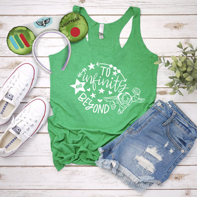 Toy Story To Infinity and Beyond Tank Top