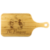 Image of Mickey and Minnie Kissing Personalized Cutting Board