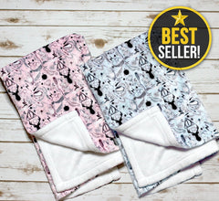 Home - Minky Fabric Baby Blanket