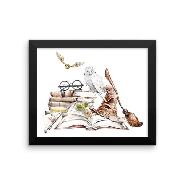 Witchcraft and Wizardry - Framed Print