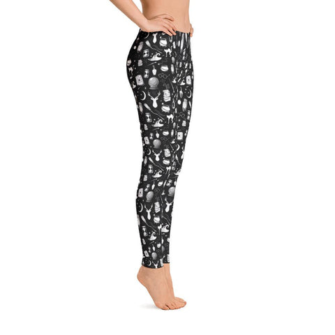 Magic - Full Length Leggings (Black)