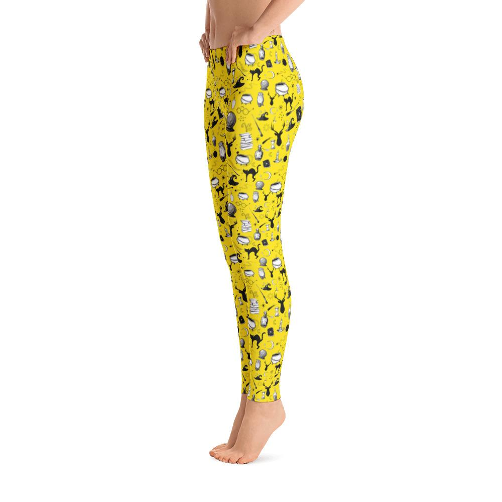 Magic - Full Length Leggings (Sherpa Yellow)