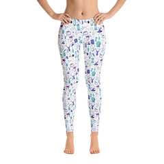 Magic - Full Length Leggings (Pop Art)