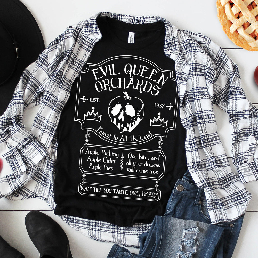 Evil Queen Orchards Shirt