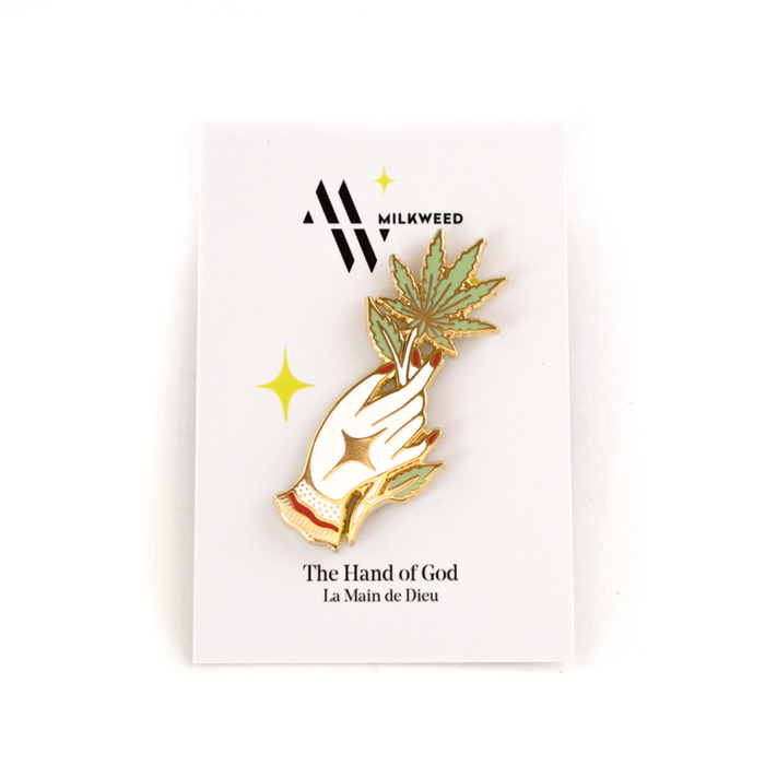 The Hand of God Pin - Milkweed Co.