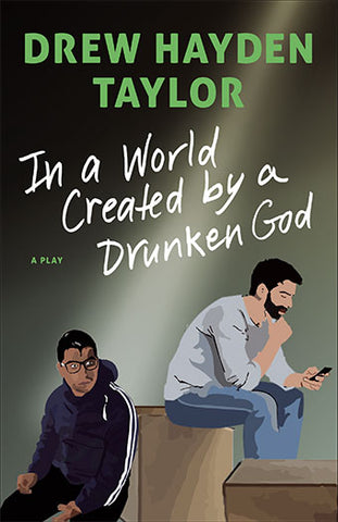 "Image Book Cover for ""In a World Created by a Drunken God"""