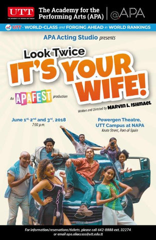 Look Twice It's Your Wife by Marvin Ishmael