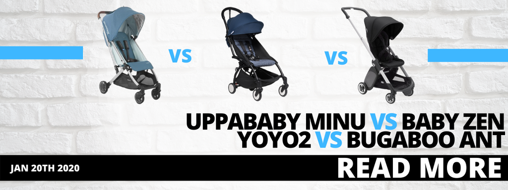 UPPAbaby Minu vs Baby Zen Yoyo2 vs Bugaboo Ant - Which is Right For You?