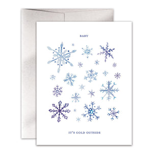Baby It's Cold Outside Card