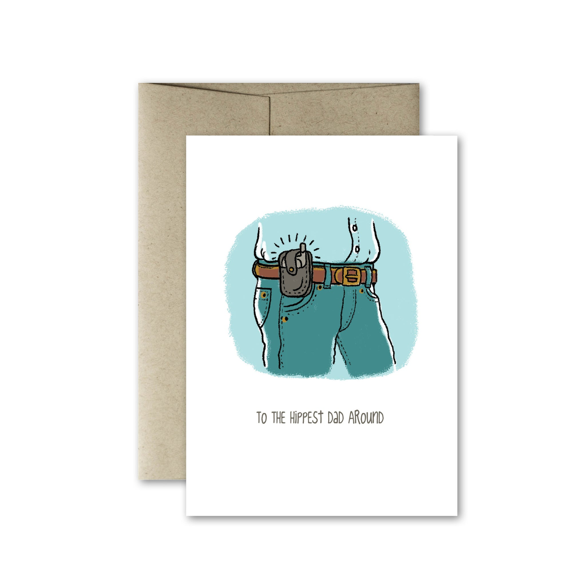 Hip Dad Card