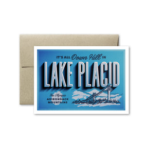 Lake Placid Card