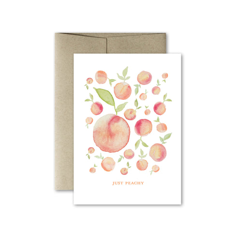 Just Peachy Card