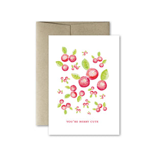 You're Berry Cute Card
