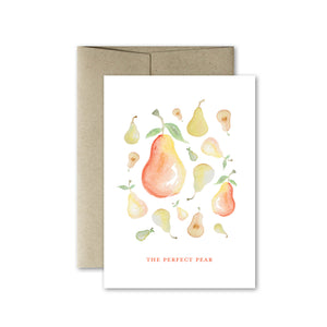 The Perfect Pear Card