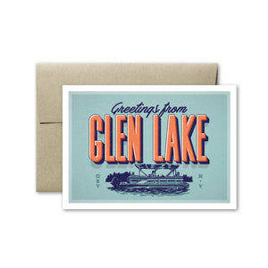 Glen Lake Card