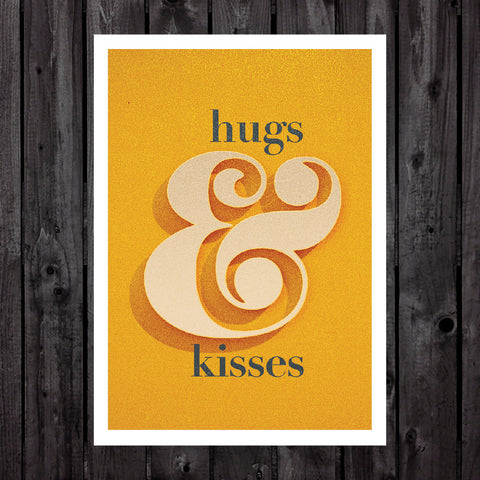 Hugs & Kisses Print