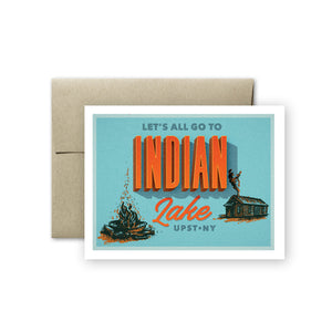 Indian Lake Card