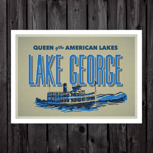 Lake George Print & Postcard