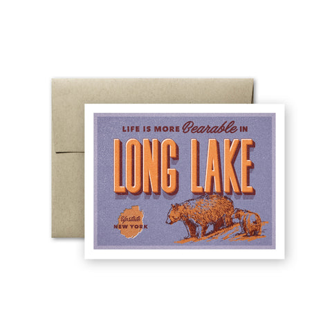 Long Lake Card