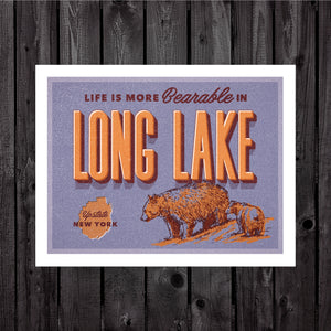 Long Lake Print & Postcard