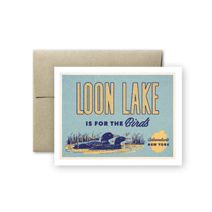 Loon Lake Card
