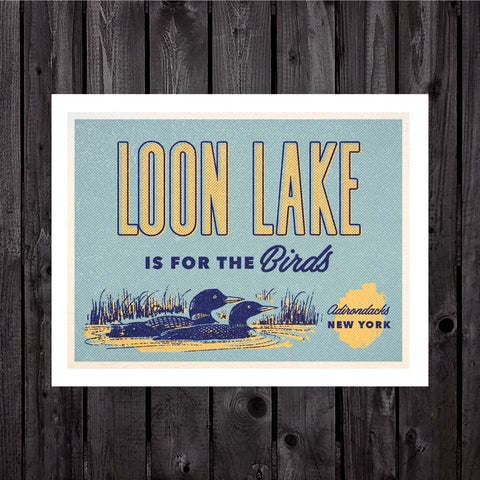 Loon Lake Print & Postcard
