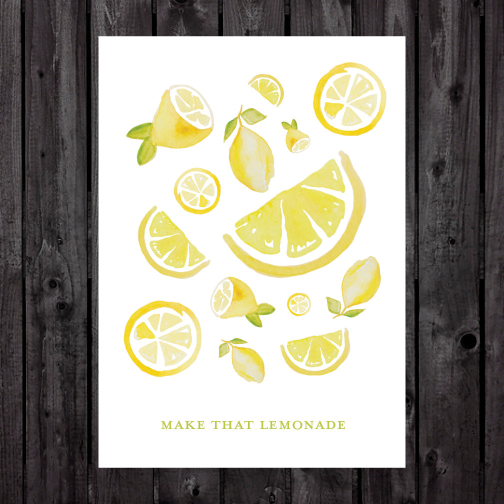 Make that Lemonade Print