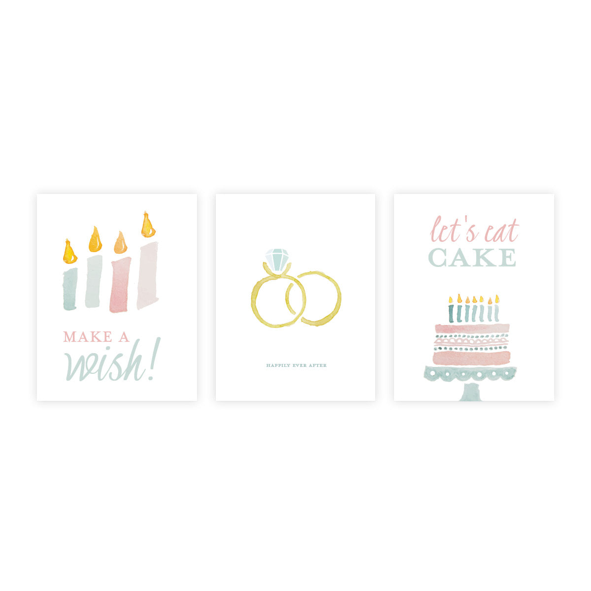 Watercolor Boxed Set of 6