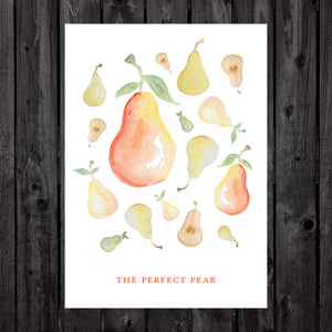 The Perfect Pear Print