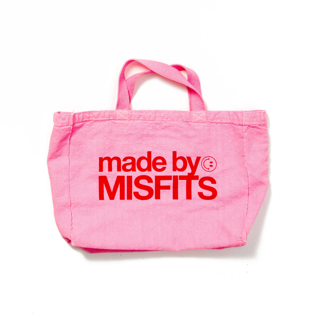 made by MISFITS - Pink Tote