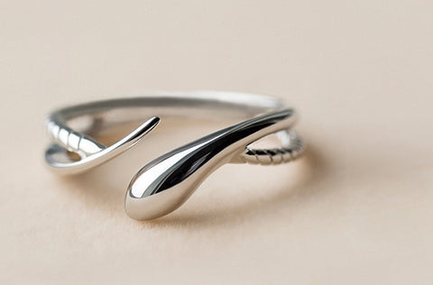 925 Sterling Silver Rings Open 925 Sterling Silver Ring Women Jewelry