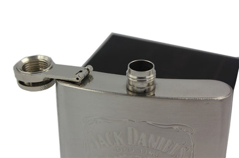 Portable 7oz Stainless Steel hip flask with Box as Gift