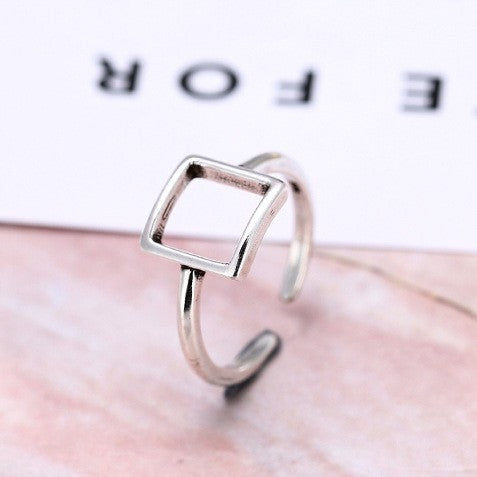 925 Silver Sterling Ring For Women Jewelry Finger Ring