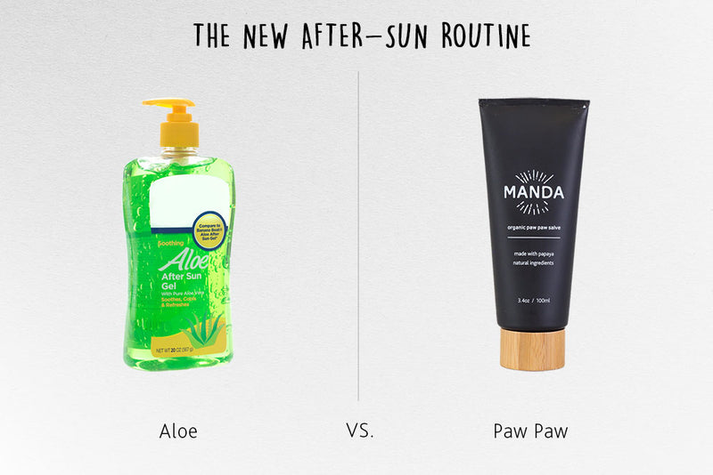 The New After-Sun Routine