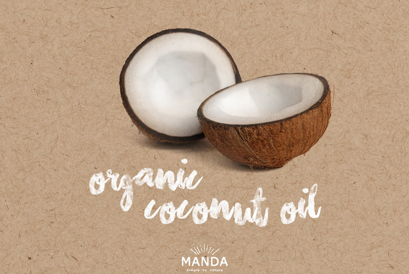 MANDA's Top 5 Benefits of Coconut Oil