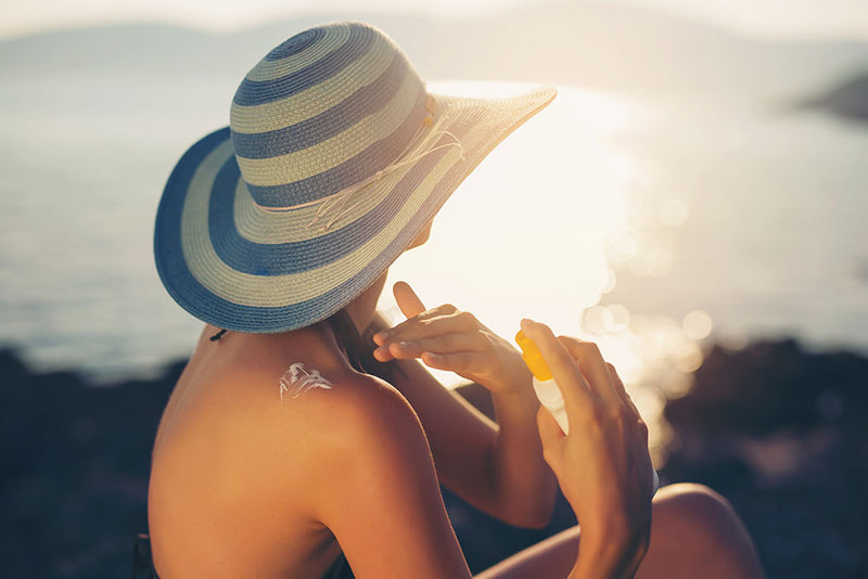 Oxybenzone & Octinoxate: The sunscreen active ingredients that harm more than protect.
