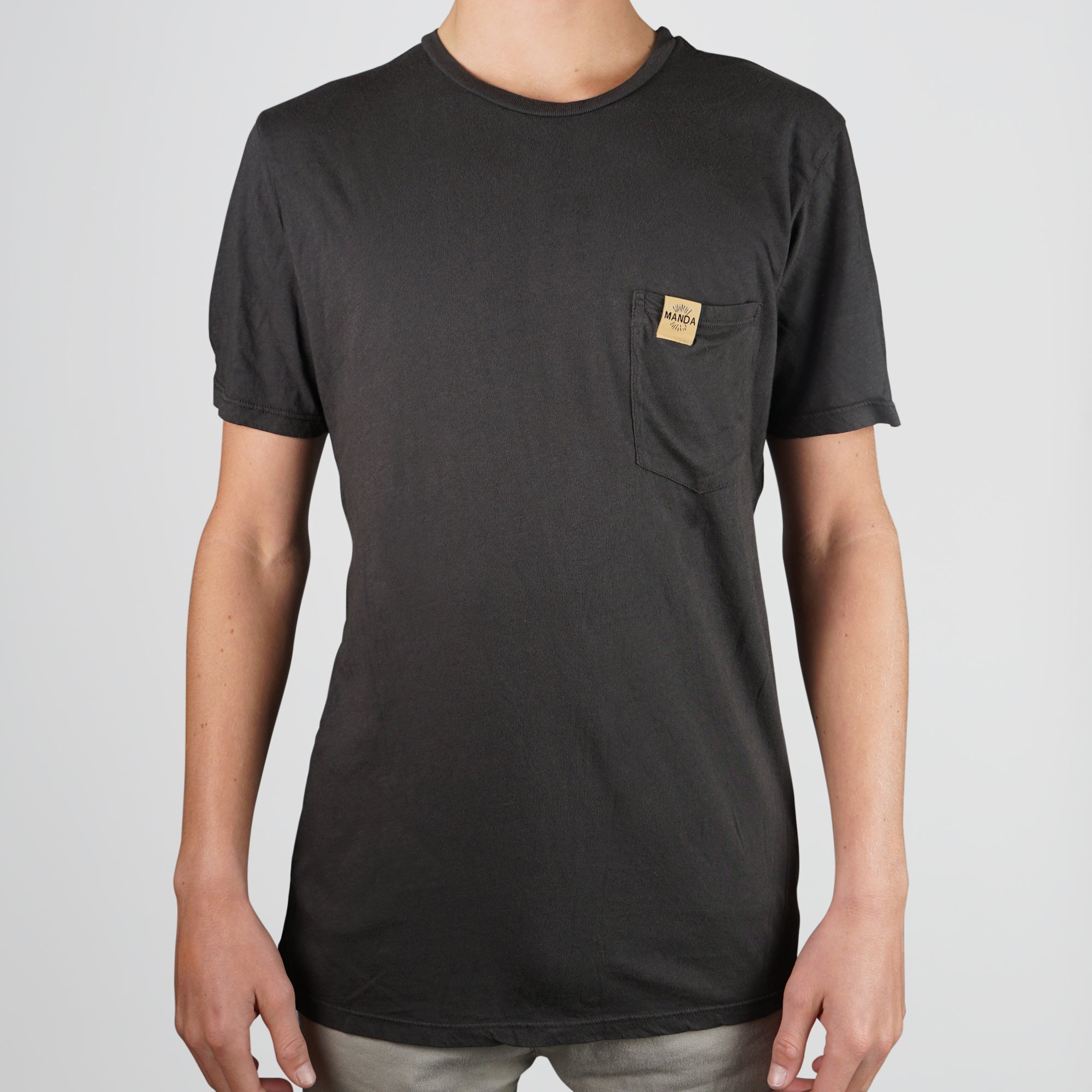 MANDA Organic Cotton Pocket T-Shirt