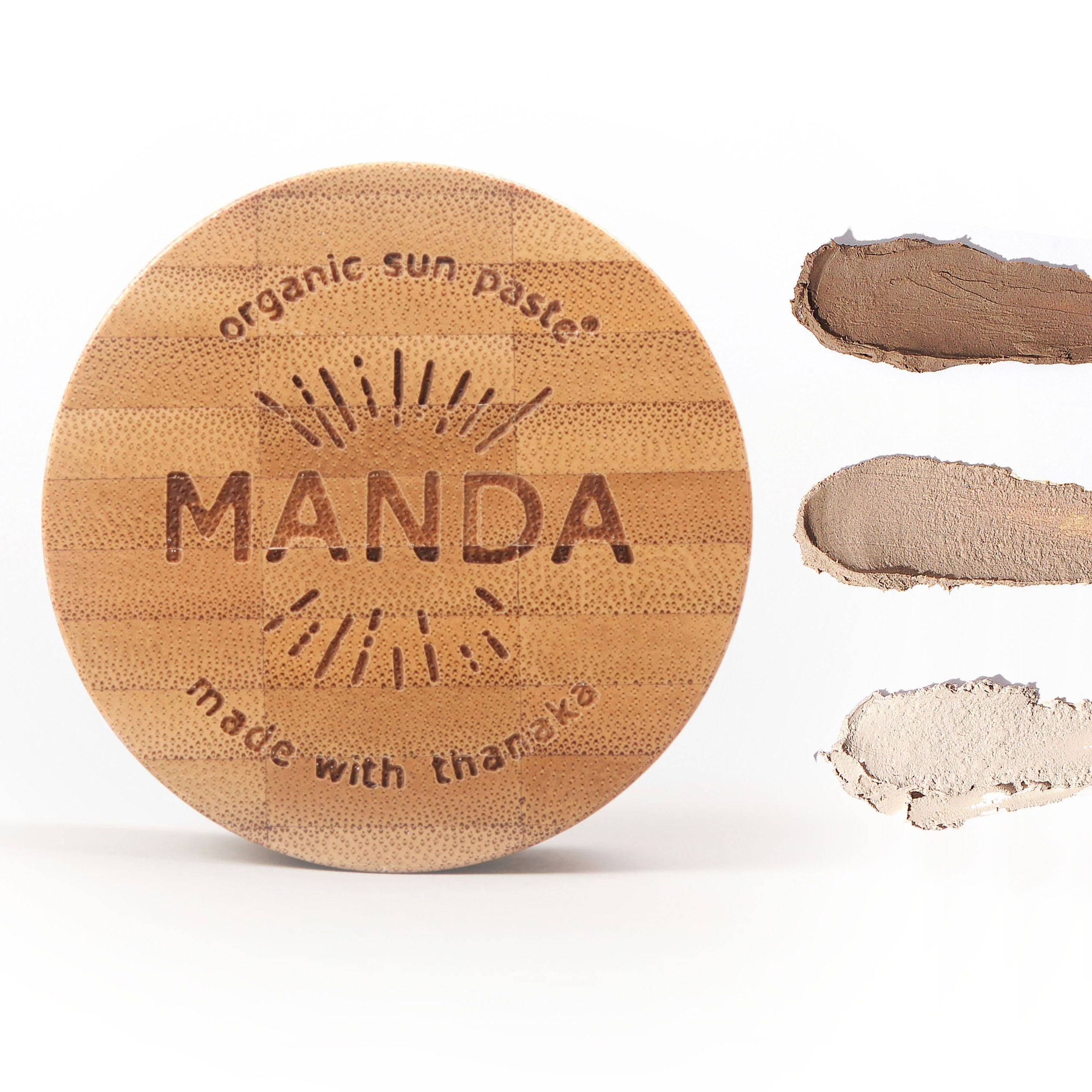 MANDA Organic Sun Paste (SPF 50) - 40 grams