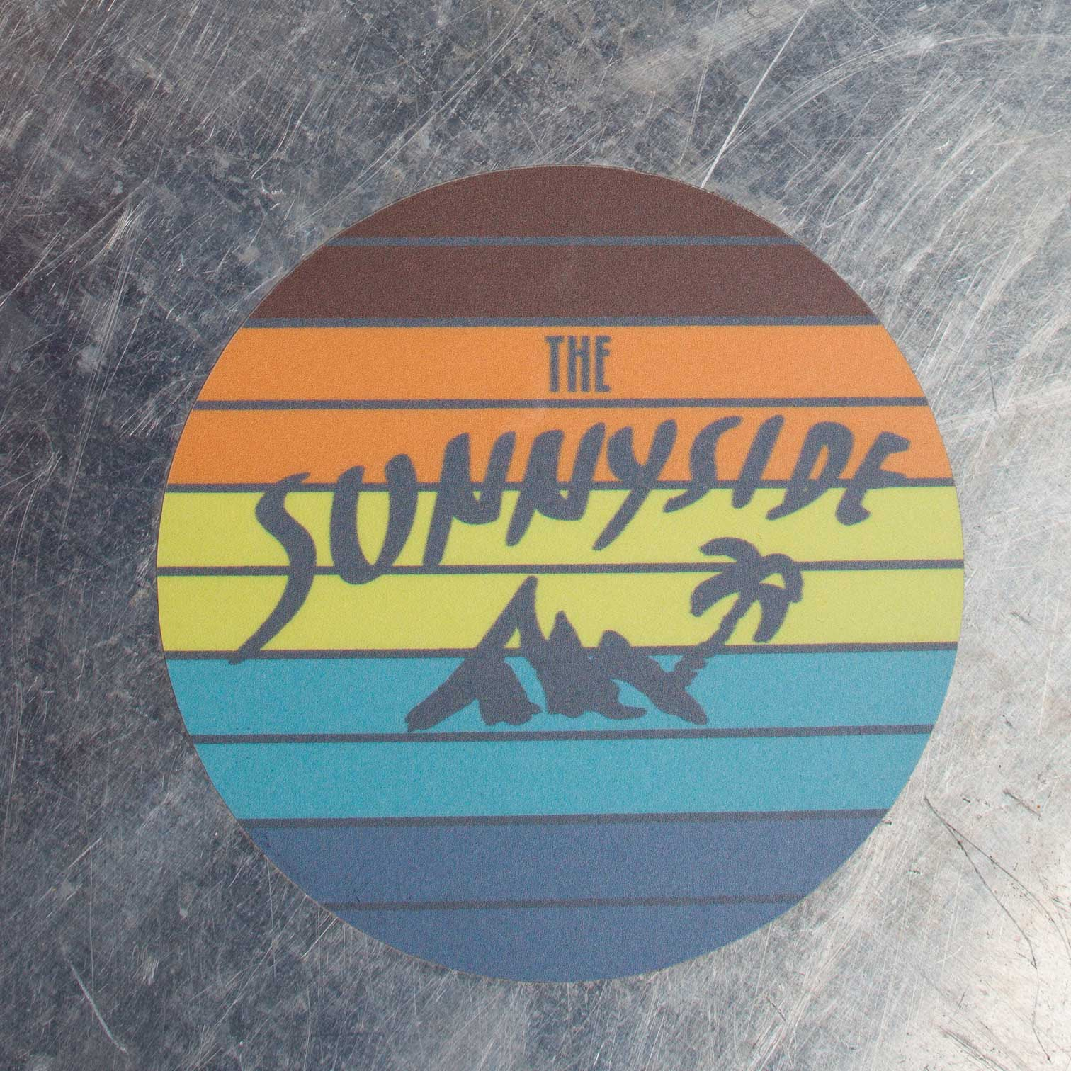 Aufkleber Sunset - THE SUNNYSIDE