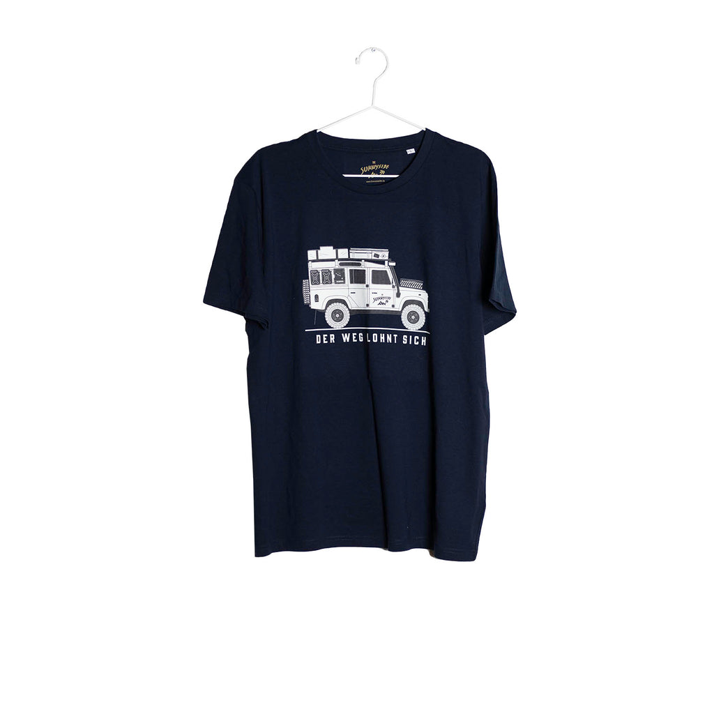 Willi T-Shirt dunkelblau - THE SUNNYSIDE
