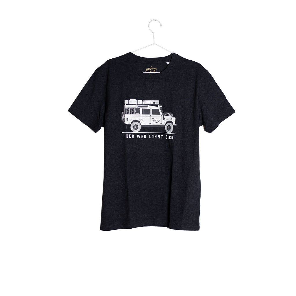 Willi T-Shirt dunkelgrau - THE SUNNYSIDE