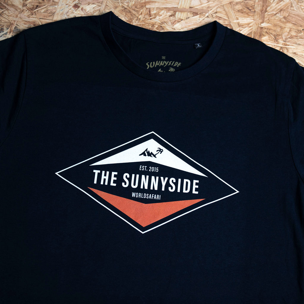 Diamond T-Shirt dunkelgrau - THE SUNNYSIDE