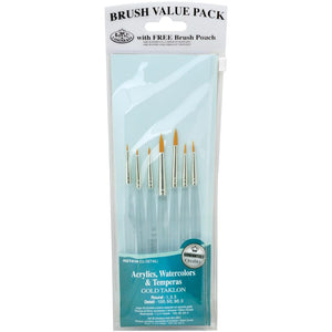 Detail Brushes - 7 Pack