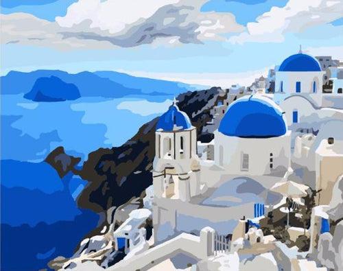 Greek Homes on the Mediterranean