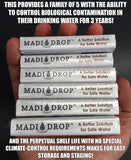 MadiDrop - Eco Friendly Water Purification Tablet