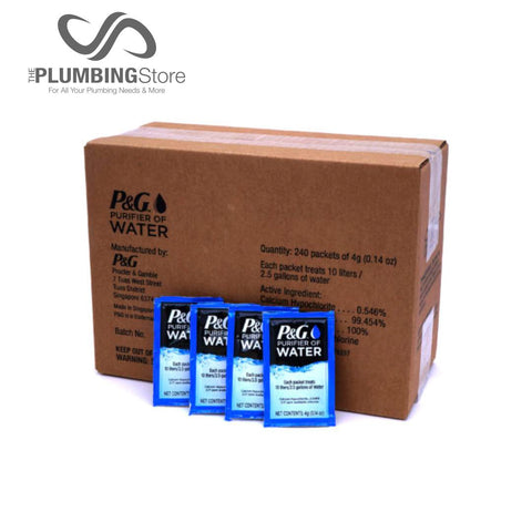 P&G™ Water Purification Packets