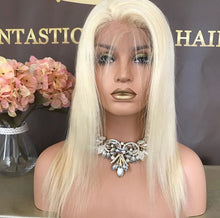 NEW!!  FULL BLONDE BRAZILIAN STRAIGHT LACE FRONTAL WIG